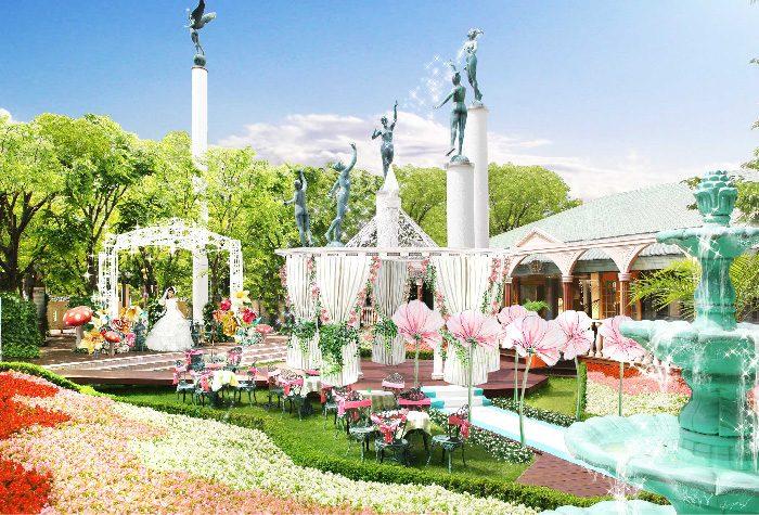 1万株の花が咲き誇る ♪ ガーデンウェディング