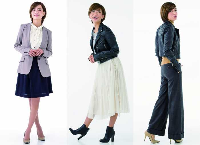 女性の場合:ワンピース、テーラードジャケットなどフォーマル風ファッションが安心