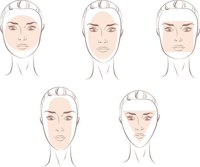 顔の輪郭に合うヘアアレンジをご紹介します。