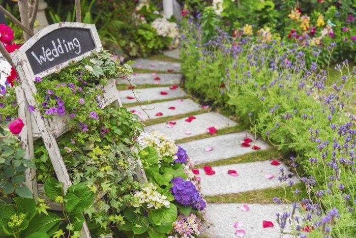 ガーデンウエディングの魅力