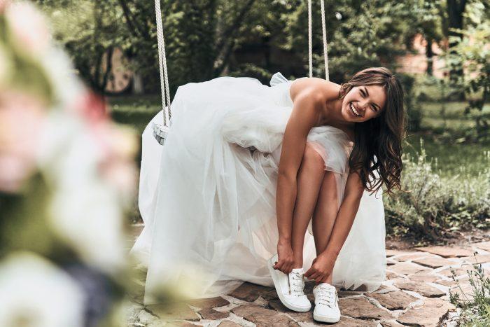 スニーカーを履いた花嫁
