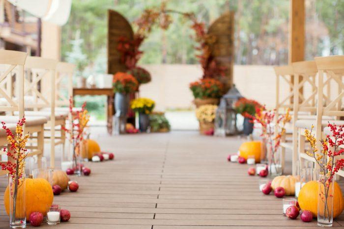 秋色のバージンロード
