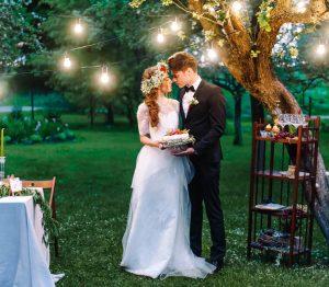 夜のガーデンウエディングが魅力的♡神戸の結婚式場ガーデンも紹介