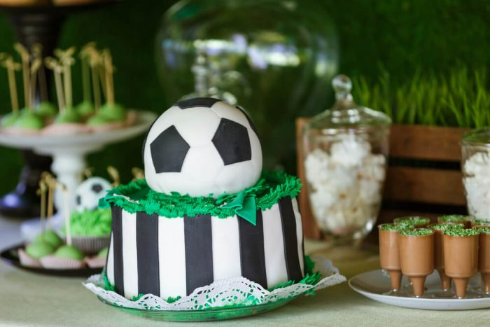 サッカーがテーマのウェルカムスペース